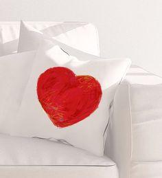 Housse de coussin choix de tissu fini velours OU par AuxOiseaux Saint, Canvas Fabric, Pillow Covers, Etsy Seller, Cushions, Throw Pillows, The Originals, Drawings, Gifts