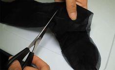 Em menos de 2 minutos vai aprender a transformar uma meia-calça em algo…