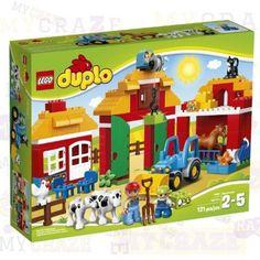 LEGO 10525 DUPLO Ville Big Farm Toddler Kids Preschool Building Toy #Lego #Duplo