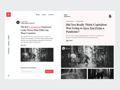 News Web Design, Ui Ux Design, Flat Design, Interface Design, Graphic Design, Blog Website Design, Restaurant Web, Digital Web, Web Layout