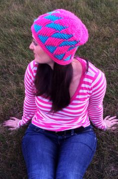 http://www.ravelry.com/patterns/library/hey-yo-diamonds-beanie