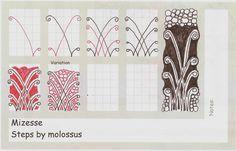 Mizesse-Tangle Pattern | da molossus, who says Life Imitates Doodles