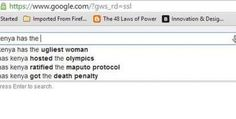 SH!T Just Got Real… Google Now Recognizes Kenya's Ugly Women