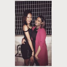 ᗰᗩ ᔕIᔕTᗩᕼ  ᗷIG ᑭᗩᖇTY #bestfriend #sistah #instapic #instagood #reunionisland #team974 #mood #kafrine #holidays #party #moulin #vacances #best #love #lareunion #frenchgirl by that_girl_is_chloe