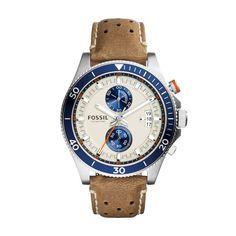 Fossil-Chrono CH2951 für Herren aus der Kollektion Frühjahr 2015. Wir bieten Ihnen diese Uhr mit einer persönlichen Gravur. Wir gravieren Text und Grafiken. Mehr...