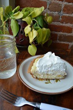 Banana Buttermilk Pie from Humble Pie Denver