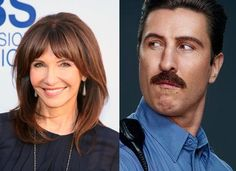 Love Mary Steenburgen's hair like this!!!!