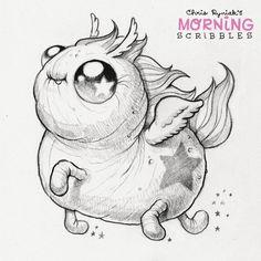 Sparkle Pegasus Magic  #morningscribbles