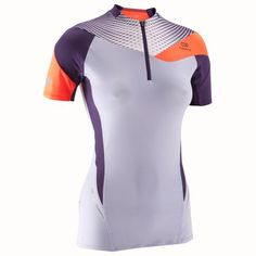 40c3dc6bf543b Perf Trail Women s Running Short-Sleeved T-shirt - Mauve Purple Camisas Para