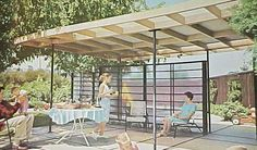 1963 Mid Century Modern Landscaping Garden Patio Design Plans | eBay..