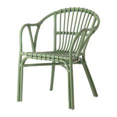 HOLMSEL Sillón - verde - IKEA