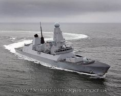 Royal Navy Type 45 destroyer HMS Diamond built by BAE Systems