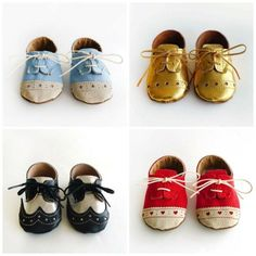 Ridiculously adorable handcrafted baby shoes on Etsy by mvaleria