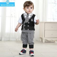 Baby-Outfit-Boy-Summer-Infant-clothing-suit-short-sleeved-T-shirt-jacket-pants