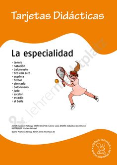 Bildkarten Spanisch: la especialidad