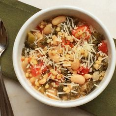 Kale, White Bean, and Tomato Sorghum Soup | Shape Magazine