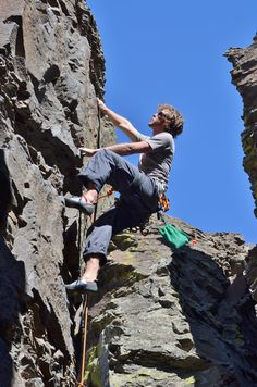 Rock Climbing in Grant County