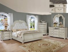 Stanley Antique White Marble Bedroom Set Crown Mark intended for Awesome Bedroom Furniture Sets on Sale - Home Design Ideas Antique White Bedroom Furniture, Marble Bedroom, Bedroom Furniture For Sale, Bedroom Vintage, White Furniture, Kitchen Furniture, Cheap Furniture, Furniture Online, Bed Furniture