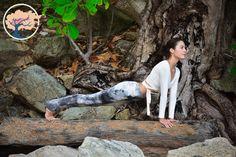 Regenachtige Sky Leggings/XX lang yoga van DaltoYogaClothes op Etsy