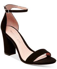 Madden Girl Bella Two-Piece Block Heel Sandals | macys.com