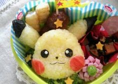 Easy! Cute Pikachu Bento Recipe -  Are you ready to cook? Let's try to make Easy! Cute Pikachu Bento in your home!