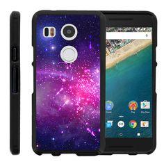 LG Nexus 5X Case SNAP SHELL 2 Piece Rubberized Hard Cover Plastic - Heavenly…
