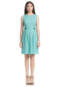 Palm Beach Jacquard Clementine Tab Waist Dress