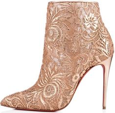 Christian Louboutin 'Gipsy' in Romantic Nu Guipure Lace