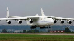 Antonov An-225 Mriya Length: 275 ft 7 in This strategic airlift cargo aircraft is powered by six turbofan engines and is the longest and heaviest airplane ever built. Initially, it was developed in order to transport the Buran spaceplane.