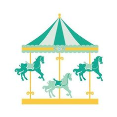 carousel clipart merry go round clip art carnival clip art fair rh pinterest com carousel clip art images carousel clipart
