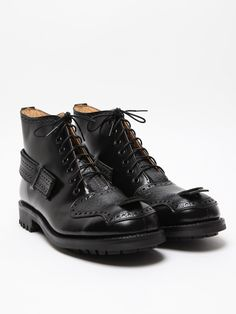 The Casely-Hayford for John Moore Men's Brogued 7 Hole Boot for autumn/winter '11