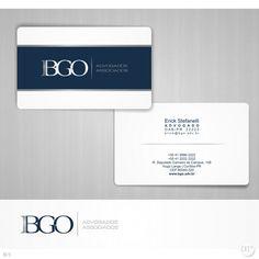Arte campeã do projeto BGO Advogados Associados