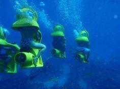 underwater ride #bahamas