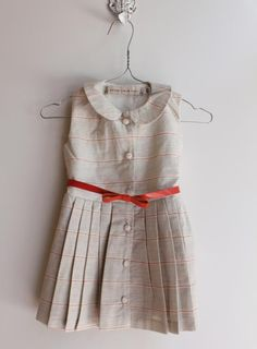 pleats | accent belt  If I ever have a little girl I want her to wear this dress!! SO ADORABLE!!!