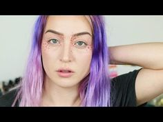 Colored Freckle Tutorial - YouTube