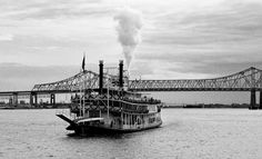 New Orleans and the Mississippi River New Orleans Christmas, The Old Days, French Quarter, Home And Away, Original Image, Mississippi, Louisiana, Old Things, Boat