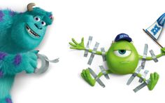 Mike and Sulley Monster University Wallpaper