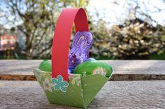 Polly kreativ: Osterverpackungen - Osterkörbchen