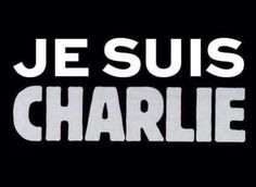 """Charlie Hebdo Je Suis Charlie=""""I am Charlie.""""-But the magazine that withstood so much and offended so many has finally been silenced. Today, visitors to the Charlie Hebdo website find only a single graphic. """"Je suis Charlie,"""" it reads. Slogan, Such Und Find, Charlie Hebdo, Charlie Charlie, Drame, Emotion, Freedom Of Speech, Freedom Freedom, Expressions"""