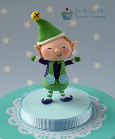 Little Christmas Elf Topper