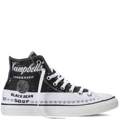 217dca9532db Chuck Taylor All Star Andy Warhol black white Converse All Star