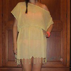 Gema.Fergo: DIY. De pañuelo a vestido para la playa