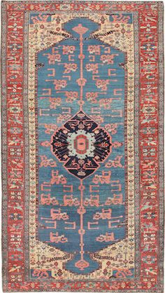 Bakshaish carpet  Northwest Persia  late 19th century  size approximately 6ft. 6in. x 11ft. 6in.