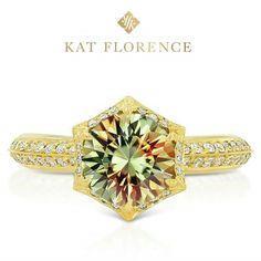 Mesmerizing Zultanite® ring by KAT FLORENCE