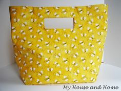 No-sew duct tape bag.  A DIY without sewing!  One I might actually try.