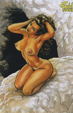 Cavewoman Uncovered Pinup Book Budd Root Special Edition #0 (special edition nude)