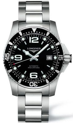 @longineswatches HydroConquest Mens #add-content #bezel-unidirectional #bracelet-strap-steel #brand-longines #case-material-steel #case-width-41mm #date-yes #delivery-timescale-1-2-weeks #dial-colour-black #gender-mens #l37424566 #luxury #movement-automatic #new-product-yes #official-stockist-for-longines-watches #packaging-longines-watch-packaging #style-dress #subcat-hydroconquest #supplier-model-no-l3-742-4-56-6 #warranty-longines-official-2-year-guarantee #water-resistant-300m