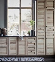 Ikea Torhamn cupboard fronts: solid ash. Sacriligeous, but might be worth painting colour I want, and having the knowledge I have solid wood for a decent price.
