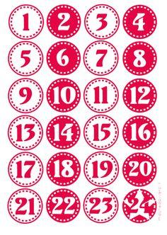 Un Calendario dell'Avvento fai da te facilissimo, rapido, economico e pure bello: che volete di più? :D