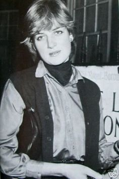 Lady Diana In the little Boltons, near her home. Arriving home after being photographed out with her brother at Eton